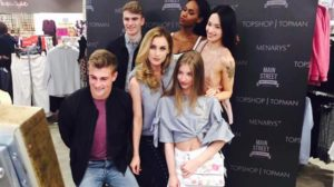 Top Shop Launch Event